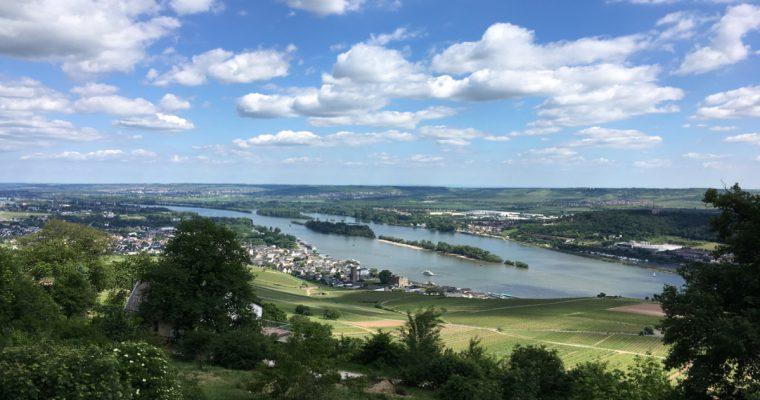 Tagesausflug am Rhein